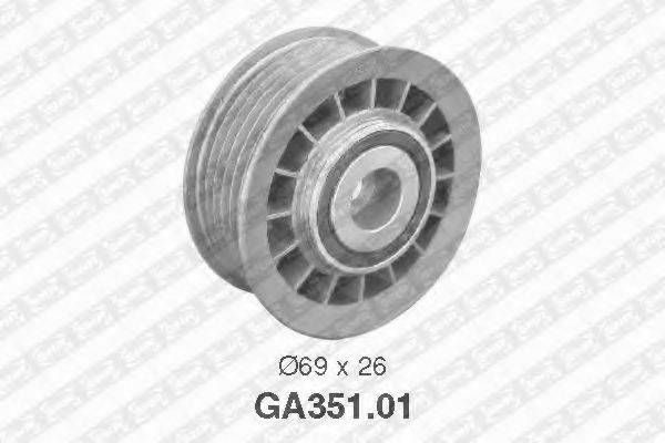 Обводной ролик SNR GA351.01