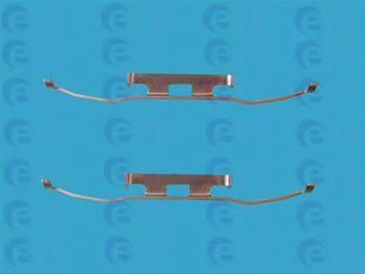 Комплектующие, колодки дискового тормоза ERT 420014